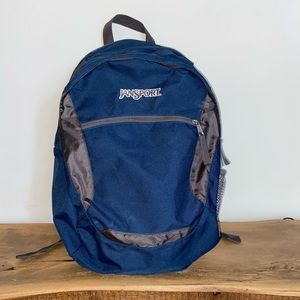 Blue and Gray Jansport Backpack